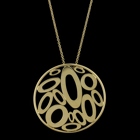 Roberto Coin 18K Yellow Gold Chic and Shine Pendant