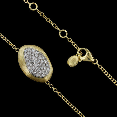Marco Bicego 18K Yellow Gold Diamond Confetti Isola Necklace