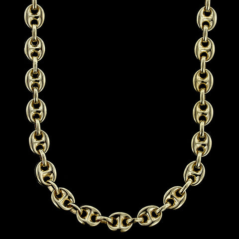 14K Yellow Gold Gucci Style Chain