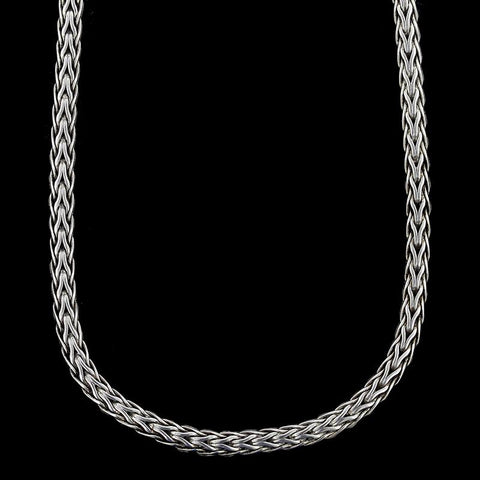 John Hardy Sterling Silver Mini Woven Chain