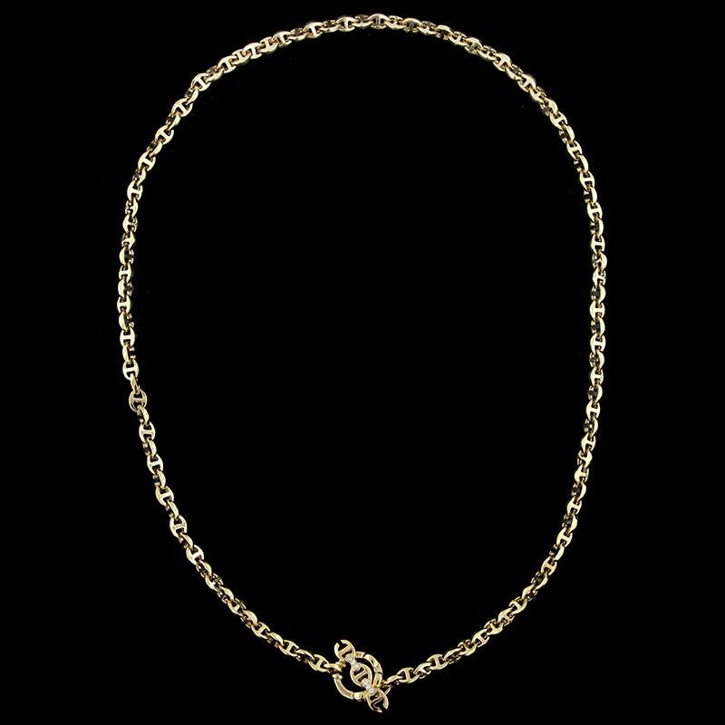 Hoorsenbuhs 18K Yellow Gold Diamond Necklace
