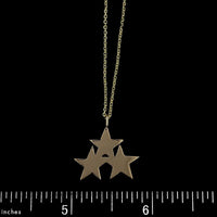 14K Yellow Gold Star Pendant