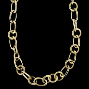 Pomellato 18K Yellow Gold Estate Necklace and Bracelet
