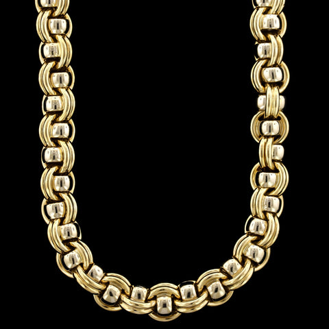 Chaumet 18K Two-Tone Gold Necklace, Paris