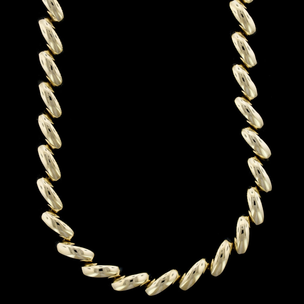 14K Yellow Gold San Marco Necklace