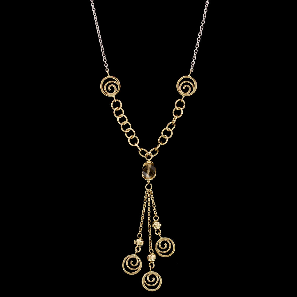 14K Two-tone Gold Estate Necklace