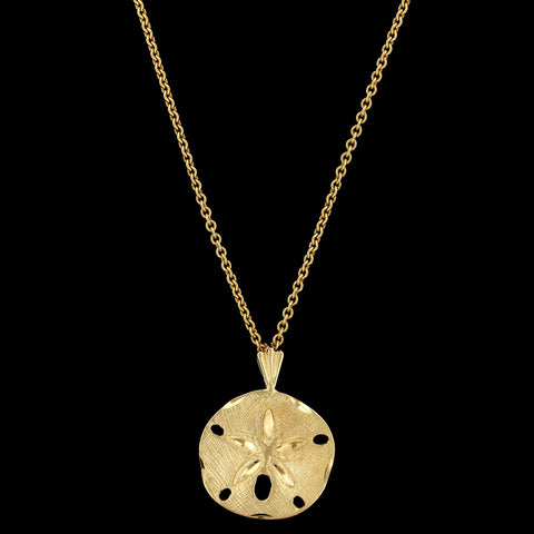 14K Two-tone Gold Diamond Necklace