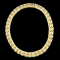 18K Yellow Gold Estate Fancy Link Necklace