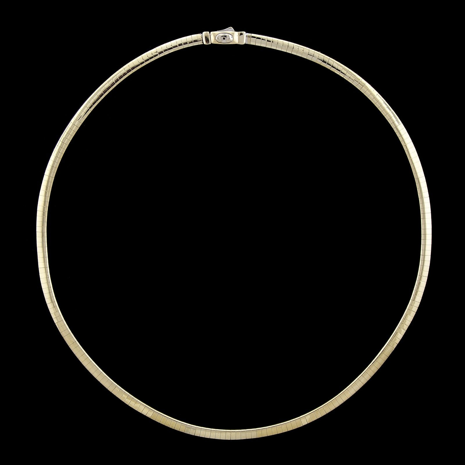 14K Yellow Gold Estate Omega Necklace