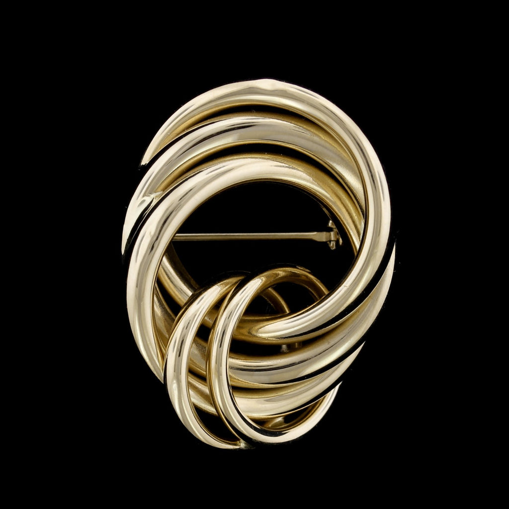 14K Yellow Gold Knot Pin