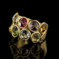 Marco Bicego 18K Yellow Gold Gem-set 'Jaipur' Ring