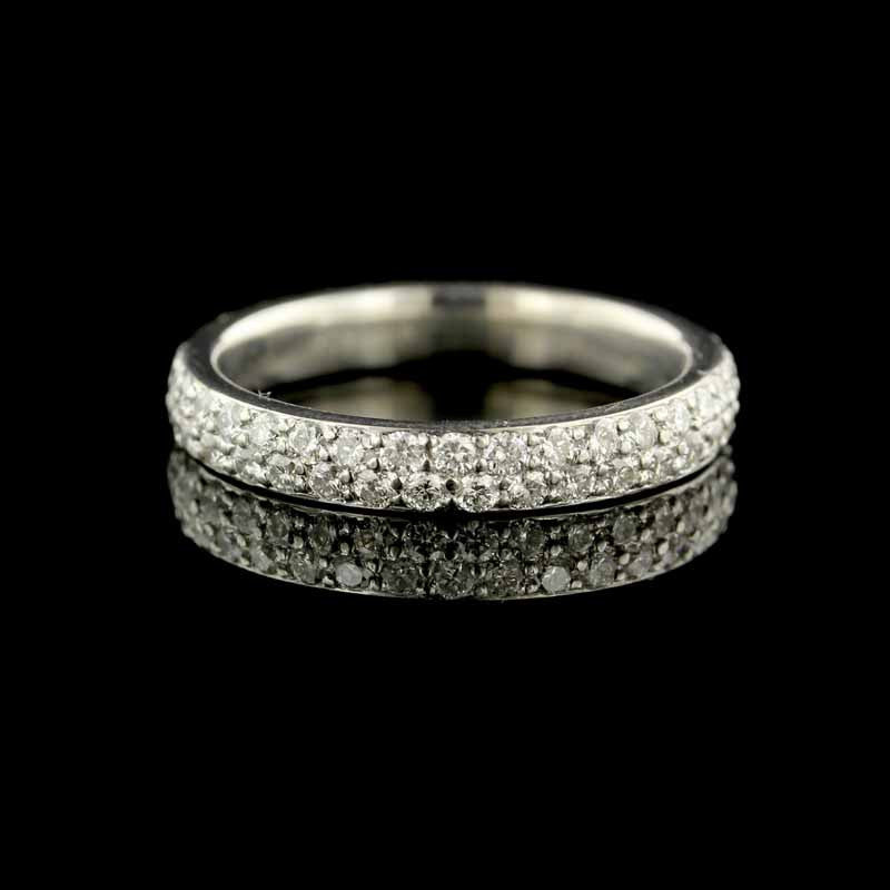 Armadani Platinum Diamond Eternity Band