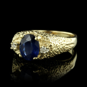 Le Vian 14K Yellow Gold Sapphire and Diamond Ring