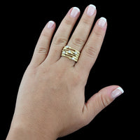 Marco Bicego 18K Yellow Gold Marrakech Diamond Ring