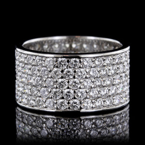 Memoire Platinum Diamond Band
