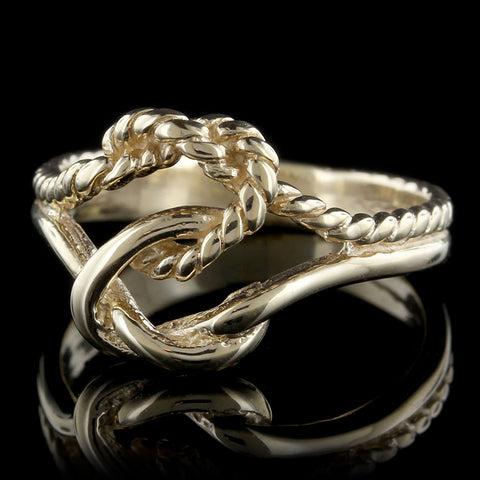 14K Yellow Gold Knot Ring