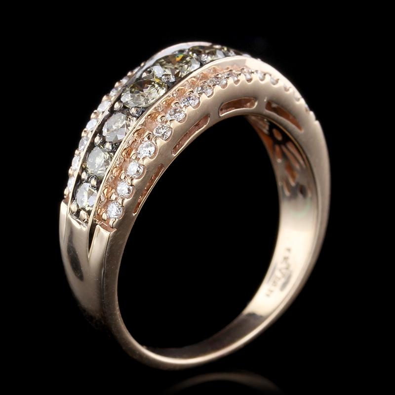 Le Vian 14K Rose Gold Chocolate Diamond and Diamond Ring
