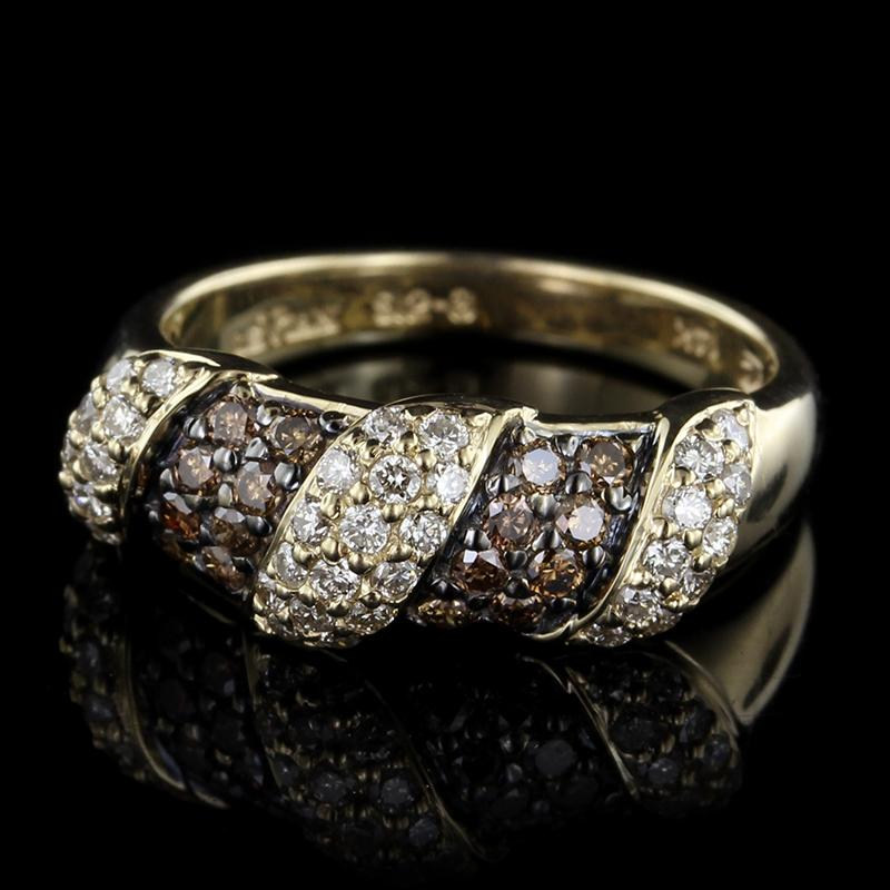 Le Vian 14K Yellow Gold Chocolate Diamond and Diamond Ring