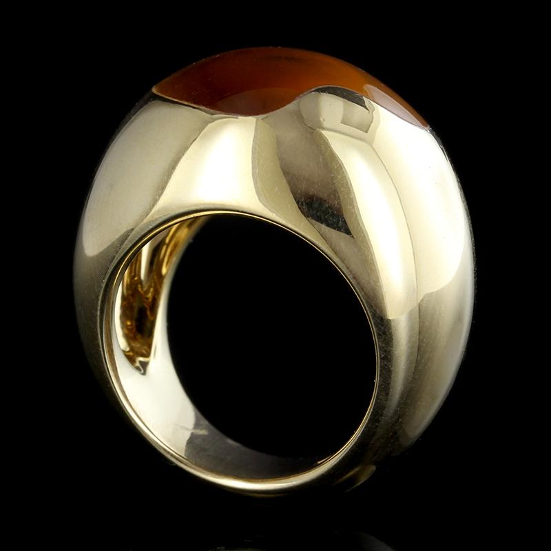 Pomellato 18K Yellow Gold Citrine Ring