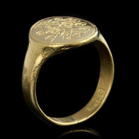 24K Yellow Gold Ring