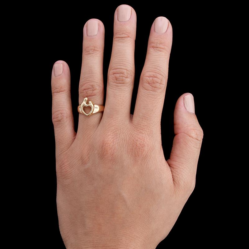 Janel Russell 14K Yellow Gold Mother and Child Ring