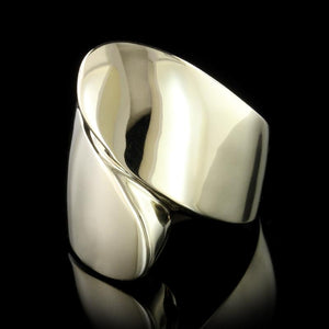 14K Yellow Gold Bypass Ring