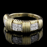 Roberto Coin 18K Yellow Gold Estate Diamond Appasionata Ring