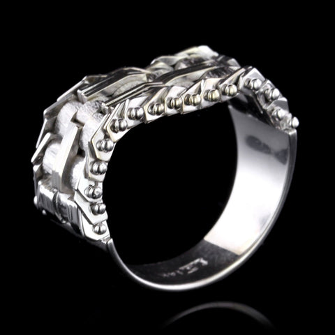 14K White Gold Flexible Ring