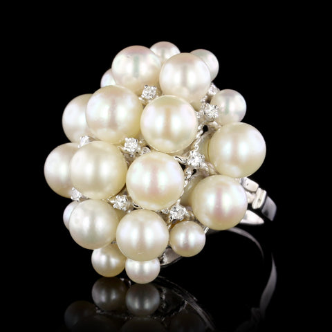 18K Yellow Gold Fresh Water Pearl Bracelet