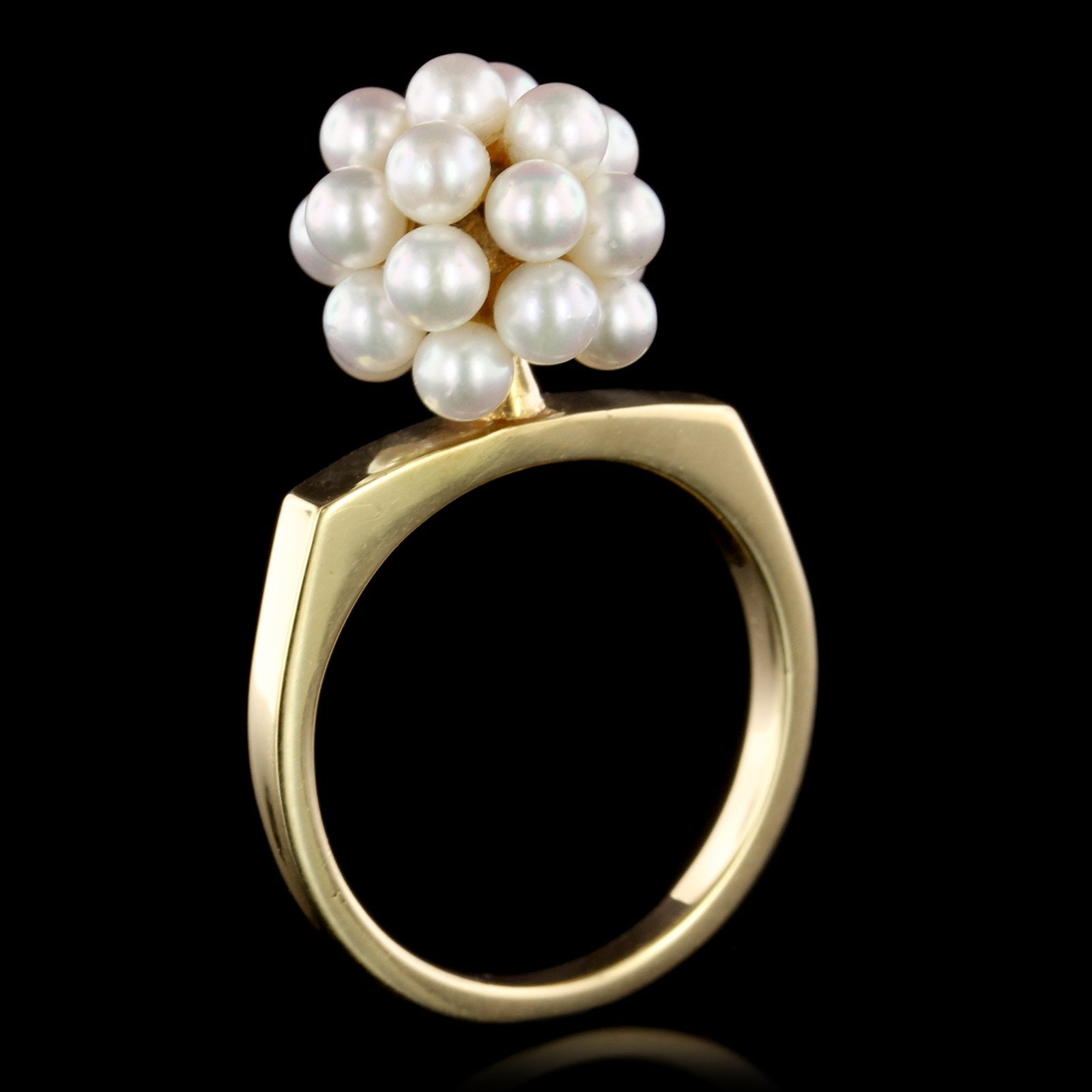 Vintage Mikimoto Cultured Pearl Ring