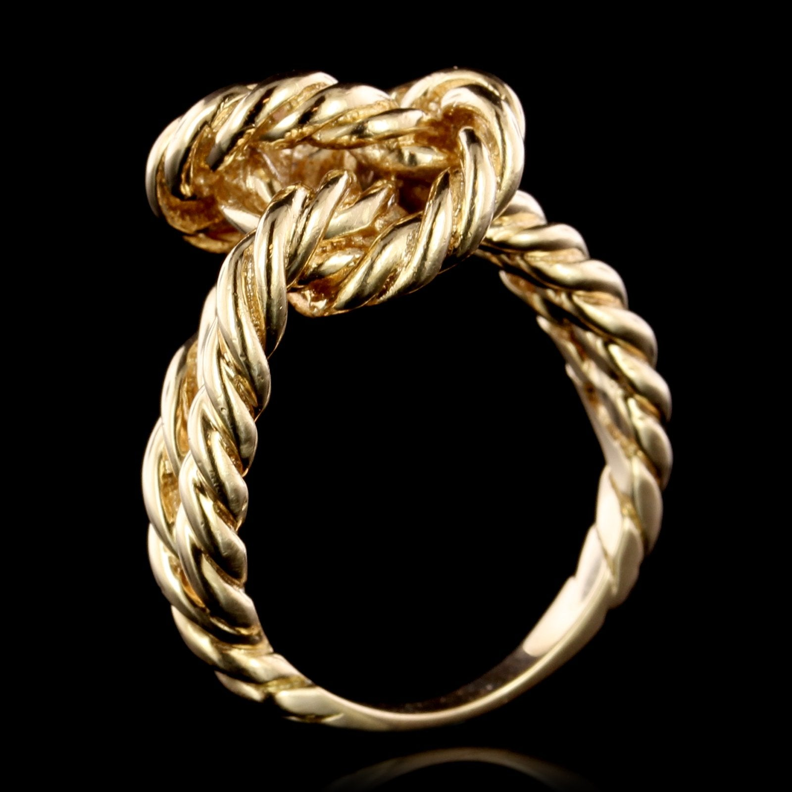 14K Yellow Gold Estate Knot Ring