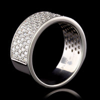 Platinum Estate Diamond Band
