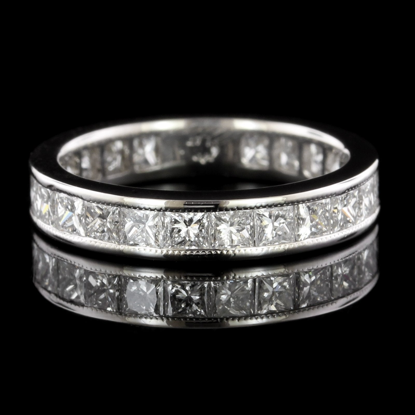 Platinum Estate Diamond Eternity Band