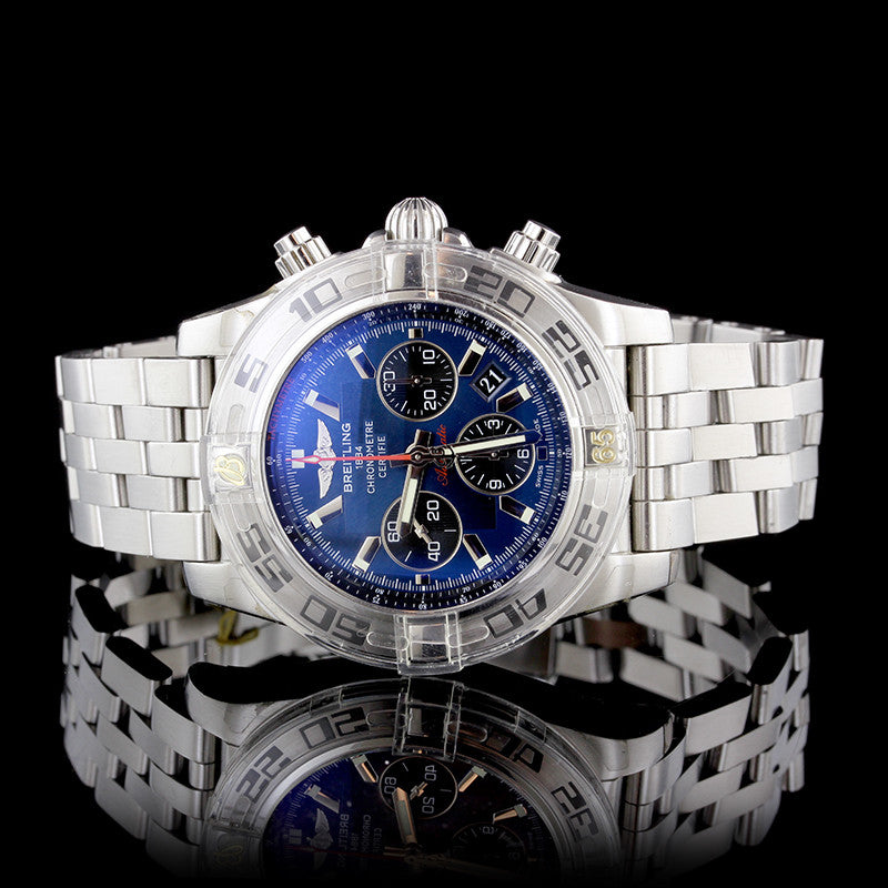 Breitling Stainless Steel 44 Flying Fish Chronomat Wristwatch