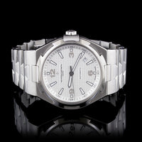 Vacheron Constantin Stainless Steel Overseas Automatic Wristwatch