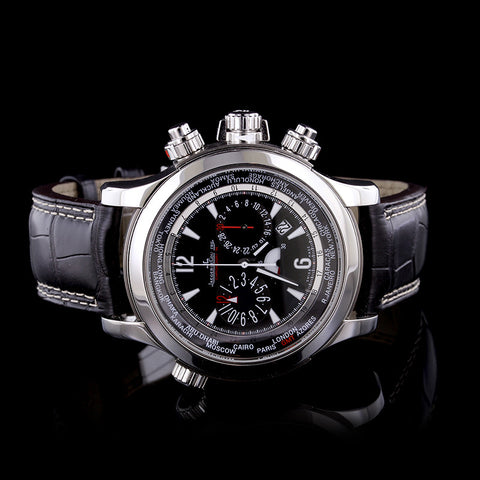 Jaeger LeCoultre Stainless Steel Master Compressor Extreme World Chronograph Wristwatch