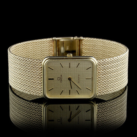 Omega 14K Yellow Gold Wristwatch