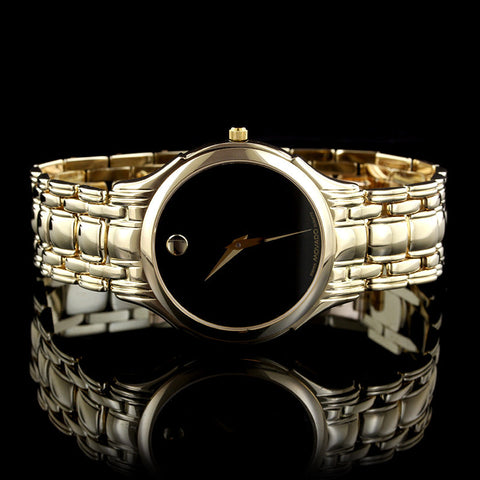 Movado 14K Yellow Gold Wristwatch