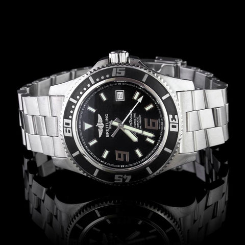Breitling Steel Superocean Wristwatch
