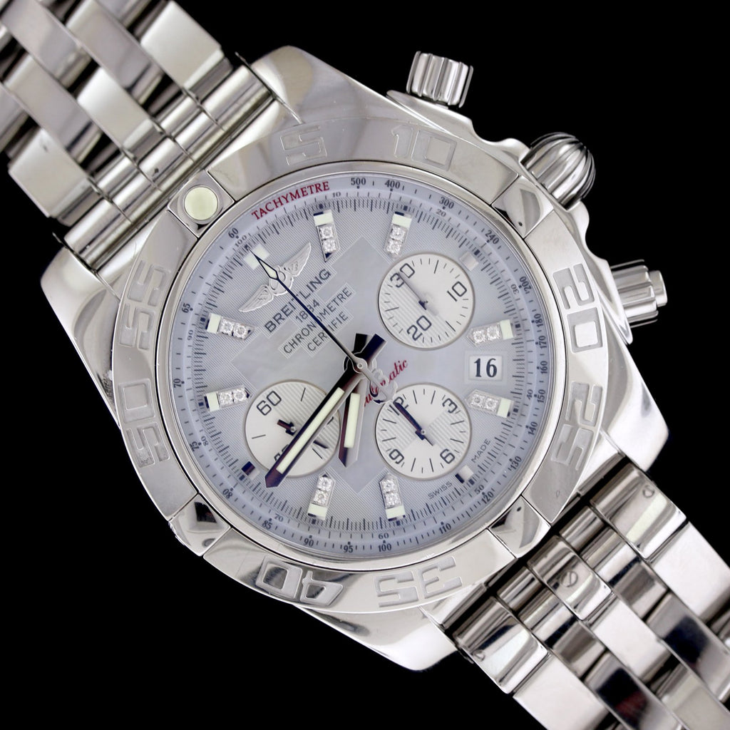 Breitling Stainless Steel Flyfish Wristwatch