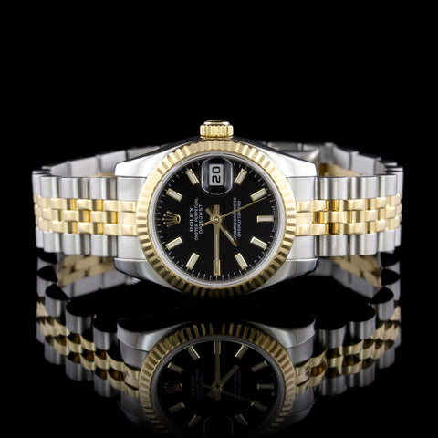 14K Yellow Gold Diamond Covered Wristwatch