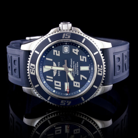Breitling Steel Super Ocean II Wristwatch