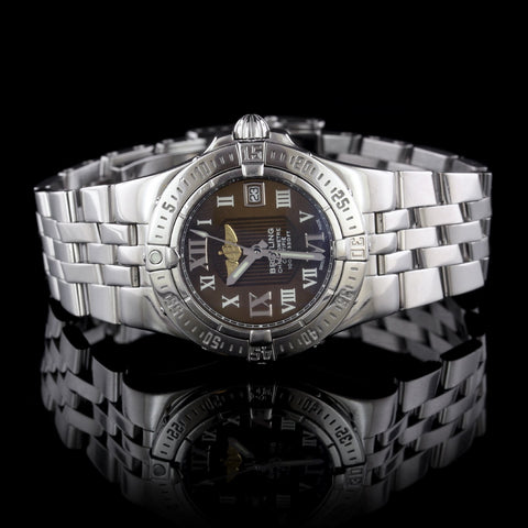 Breitling Steel Starliner Wristwatch