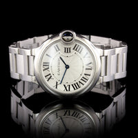 Cartier Steel Ballon Bleu Wristwatch