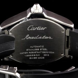 Cartier Estate Steel Roadster Wristwatch