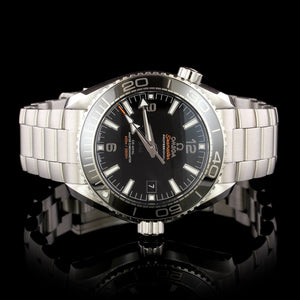 Omega Steel Estate Planet Ocean Wristwatch
