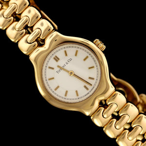 Tiffany & Co. 18K Yellow Gold Estate Wristwatch