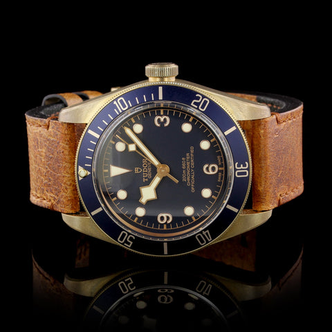 Tudor Bronze Black Bay Bucherer Wristwatch