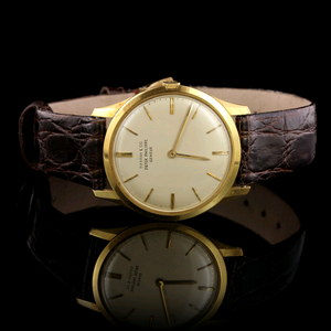 Patek Philippe 18K Yellow Gold Estate Calatrava Wristwatch