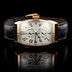 Franck Muller 18K Rose Gold Estate Master Banker Wristwatch